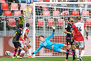 26-07-2016: Voetbal: FC Utrecht v Espanyol: Utrecht<br /> <br /> goalkeeper Thijmen Nijhuis (FC Utrecht)<br /> <br /> Oefenwedstrijd in stadion Galgenwaard ter voorbereiding op het Eredivisie seizoen 2016-2017<br /> <br /> Foto: Gertjan Kooij