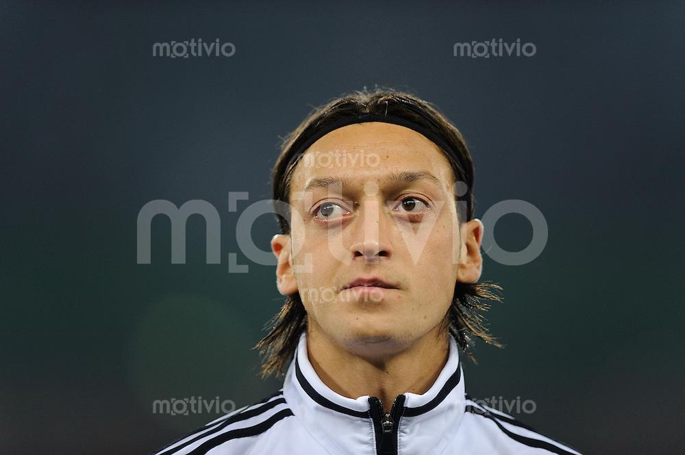 Fussball international Saison 2011 Freundschaftsspiel Deutschland - Niederlande Mesut OEZIL (GER).