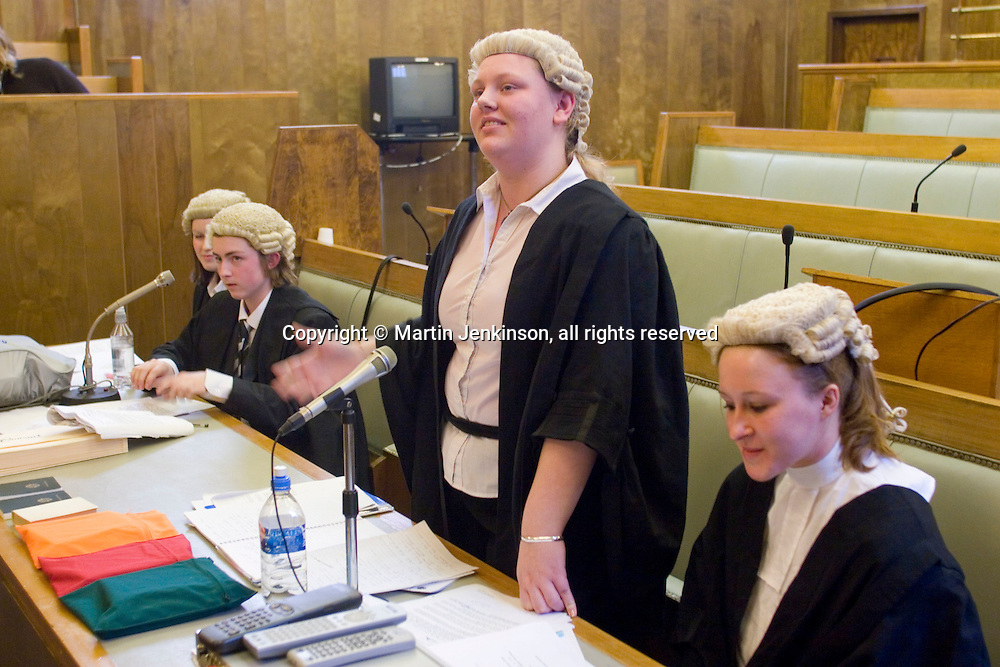 Citizenship Foundation Bar Mock Trial Competition 2007 Cardiff ...© Martin Jenkinson, tel 0114 258 6808 mobile 07831 189363 email martin@pressphotos.co.uk. Copyright Designs & Patents Act 1988, moral rights asserted credit required. No part of this photo to be stored, reproduced, manipulated or transmitted to third parties by any means without prior written permission