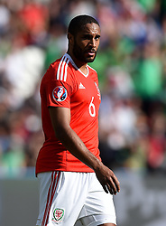 Ashley Williams of Wales  - Mandatory by-line: Joe Meredith/JMP - 25/06/2016 - FOOTBALL - Parc des Princes - Paris, France - Wales v Northern Ireland - UEFA European Championship Round of 16