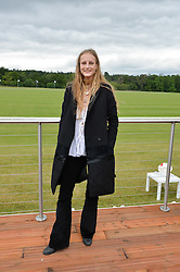 OLYMPIA CAMPBELL at the Audi Polo Challenge at Coworth Park, Blacknest Road, Ascot, Berkshire on 31st May 2015.