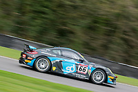 Team Parker Racing #66 Porsche Cayman GT4 Clubsport MR Nick Jones/Scott Malvern GT4 Pro/AM during Friday testing for the British GT Championship as part of the BRDC British F3/GT Championship Meeting at Oulton Park, Little Budworth, Cheshire, United Kingdom. April 14 2017. World Copyright Peter Taylor/PSP. Copy of publication required for printed pictures.  Every used picture is fee-liable. http://archive.petertaylor-photographic.co.uk