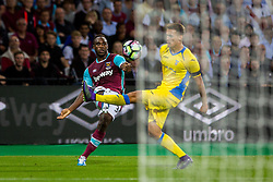 Michail Antonio of West Ham during 2nd Leg football match between West Ham United FC and NK Domzale in 3rd Qualifying Round of UEFA Europa league 2016/17 Qualifications, on August 4, 2016 in London, England.  Photo by Ziga Zupan / Sportida