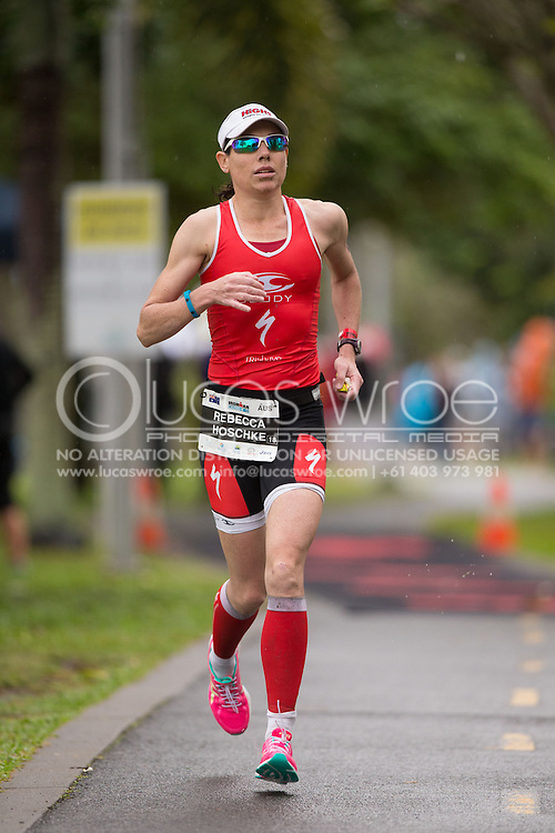 Rebecca Hoschke (AUS), June 8, 2014 - TRIATHLON : Ironman Cairns 70.3 / Cairns Airport Adventure Festival, Palm Cove - Captain Cook Highway - Cairns Esplanade, Cairns, Queensland, Australia. Credit: Lucas Wroe