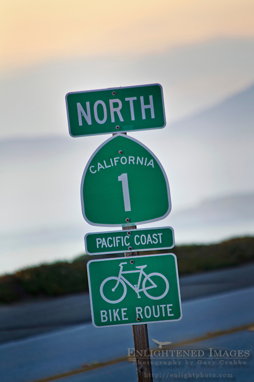 State Highway One (1) North, near Cambria, California