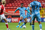 Forest Green Rovers Udoka Godwin-Malife(22) during the EFL Cup match between Charlton Athletic and Forest Green Rovers at The Valley, London, England on 13 August 2019.