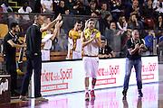 Giuliano Maresca Fabio Corbani<br /> Unicusano Roma - Benacquista Assicurazioni Latina<br /> Campionato Basket LNP 2016/2017<br /> Roma 06/11/2016<br /> Foto Ciamillo-Castoria