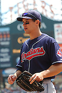 COPYRIGHT DAVID RICHARD.Grady Sizemore of the Cleveland Indians..Cleveland Indians at Detroit Tigers, July 5, 2007