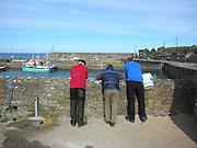 Slade Village fishermen, Wexford, Ireland