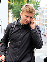 George Ezra, Celebrity sightings in London, 18 September 2014, Photo by Mike Webster
