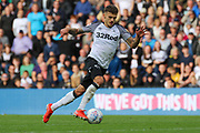 Derby County forward Jamie Paterson runs at goal and scores during the EFL Sky Bet Championship match between Derby County and Birmingham City at the Pride Park, Derby, England on 28 September 2019.