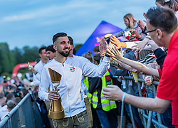 26.05.2019, Schloss Klessheim, Salzburg, AUT, 1. FBL, FC Red Bull Salzburg Meisterfeier, im Bild Munas Dabbur (FC Red Bull Salzburg) // during the Austrian Football Bundesliga Championsship Celebration at the Schloss Klessheim in Salzburg, Austria on 2019/05/26. EXPA Pictures © 2019, PhotoCredit: EXPA/ JFK