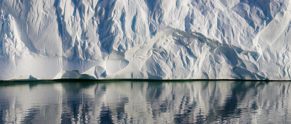 Iceberg Wall, Pléneau Bay, Antarctic Peninsula, Antarctica  2014