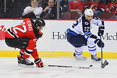 November 25, 2013: Winnipeg Jets at New Jersey Devils