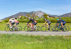 25.04.2018, Angerberg, AUT, ÖRV Trainingslager, UCI Straßenrad WM 2018, im Bild Mitglieder der Österreichischen Nationalmannschaft // during a Testdrive for the UCI Road World Championships in ANGERBERG, Austria on 2018/04/25. EXPA Pictures © 2018, PhotoCredit: EXPA/ JFK