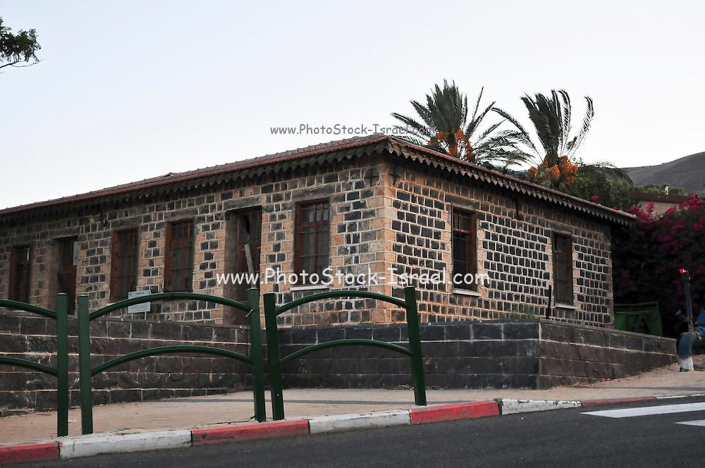 Israel, Galilee, Moshav Yavne'el is located on the shoires of the Sea of Galilee