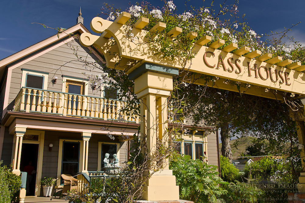 Cass House Inn, Cayucos, San Luis Obispo County, California