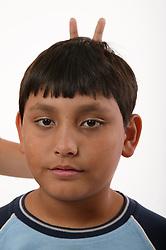 Portrait of a boy,