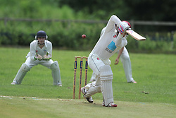 TOM HAFIL  BATTING OLD NORTHAMPTONIANS, RUSHTON CRICKET CLUB v OLD NORTHAMPTONIANS CC, Station Road Rushton Saturday 25th June 2016
