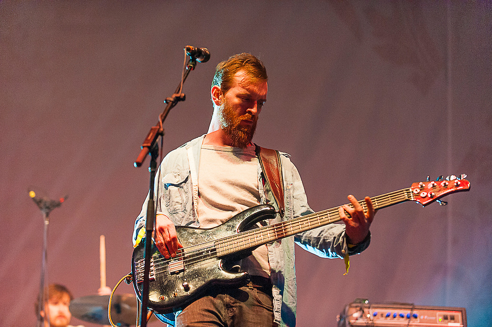 Moon Taxi performs at the 2013 Voodoo Music + Arts Experience at City Park onSunday November 3, 2013 in New Orleans, Louisiana.