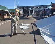 double decker festival set-up