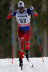 13.12.2014, Davos, SUI, FIS Langlauf Weltcup, Davos, 15 km, Herren, im Bild Chris Andre Jespersen (NOR) // during Cross Country, 15km, men at FIS Nordic world cup in Davos, Switzerland on 2014/12/13. EXPA Pictures &copy; 2014, PhotoCredit: EXPA/ Freshfocus/ Christian Pfander<br /> <br /> *****ATTENTION - for AUT, SLO, CRO, SRB, BIH, MAZ only*****