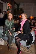 TATIANA O'NEILL; BLANCA BRILLEMVOURG, Party hosted for Jason Wu by Plum Sykes and Christine Al-Bader. Ladbroke Grove. London. 22 March 2011. -DO NOT ARCHIVE-© Copyright Photograph by Dafydd Jones. 248 Clapham Rd. London SW9 0PZ. Tel 0207 820 0771. www.dafjones.com.