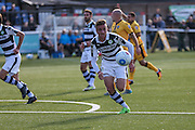 Forest Green Rovers Elliott Frear(11) runs forward during the The FA Cup 4th qualifying round match between Sutton United and Forest Green Rovers at Gander Green Lane, Sutton, United Kingdom on 15 October 2016. Photo by Shane Healey.