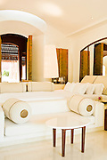 Reserve Villa bedroom and living room.