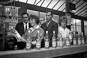 19/04/1963<br /> 04/19/1963<br /> 19 April 1963<br /> Gilbey's Vodka line. Smirnoff Vodka being produced at Gibey's in Dublin.