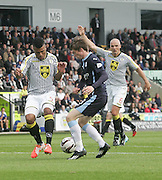 Dundee's Craig Wighton and St Mirren's Ellis Plummer - St Mirren v Dundee, SPFL Premiership at St Mirren Park<br /> <br />  - &copy; David Young - www.davidyoungphoto.co.uk - email: davidyoungphoto@gmail.com