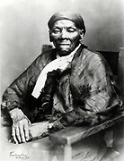 Harriet Tubman (c1820-1913) American born in slavery, escaped 1849, and became leading Abolitionist. Active as a 'conductor' in the Underground Railroad. Photograph
