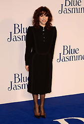 Blue Jasmine - UK film premiere. <br /> Sally Hawkins arrives for the Blue Jasmine film premiere, Odeon, London, United Kingdom. Tuesday, 17th September 2013. Picture by Nils Jorgensen / i-Images