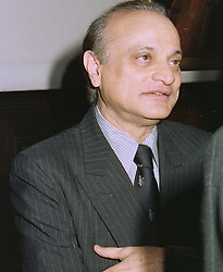 SIRDAR ALY AZIZ at a reception in London on 13th October 1997. MCA 42
