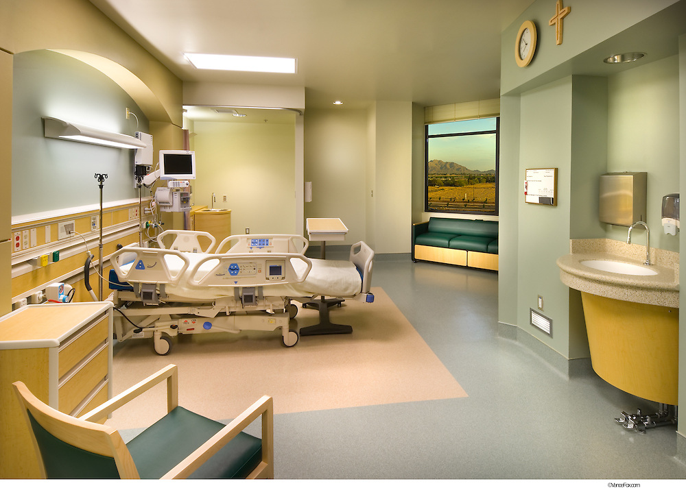 Hospital - Mercy Gilbert Hospital in Pheonix, AZ by Moon Mayoras Architects, Brandt Design Group, Kitchell Contractors