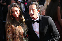 Adrien Brody and Lara Lieto at the 'Behind The Candelabra' gala screening at the Cannes Film Festival  Tuesday 21 May 2013