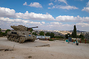 Israel, Latron, IDF Armoured Corps Museum and memorial