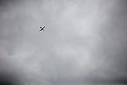 A U2 flies over Beale Air Force Base February 23, 2010 in Linda, Calif.