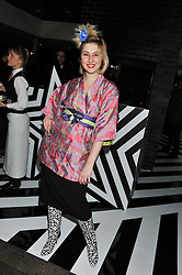ROSAMUND HANSON at the InStyle Best of British Talent Event in association with Lancôme and Avenue 32 held at The Rooftop Restaurant, Shoreditch House, Ebor Street, London E1 on 30th January 2013.