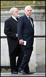 Norman Lamont attends Lady Thatcher's funeral at St Paul's Cathedral following her death last week, London, UK, Wednesday 17 April, 2013, Photo by: Andrew Parsons / i-Images