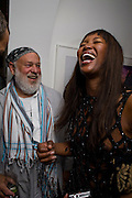 BRUCE WEBER; NAOMI CAMPBELL, Party hosted by Franca Sozzani and Remo Ruffini in honour of Bruce Weber to celebrate L'Uomo Vogue The Miami issuel by Bruce Weber. Casa Tua. James Avenue. Miami Beach. 5 December 2008 *** Local Caption *** -DO NOT ARCHIVE-© Copyright Photograph by Dafydd Jones. 248 Clapham Rd. London SW9 0PZ. Tel 0207 820 0771. www.dafjones.com.