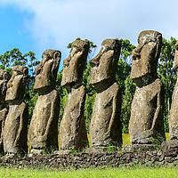 Mysterious Moai