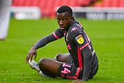 Leeds United forward Eddie Nketiah (14) during the EFL Sky Bet Championship match between Barnsley and Leeds United at Oakwell, Barnsley, England on 15 September 2019.