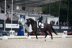 Rooke Rebecca, AUS, Muschamp Royal Black<br /> Longines FEI/WBFSH World Breeding Dressage Championships for Young Horses - Ermelo 2017<br /> © Hippo Foto - Dirk Caremans<br /> 03/08/2017