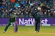 Wicket - Joe Root of England attempts to hit the ball for a six but is caught by Babar Azam of Pakistan during the third Royal London One Day International match between England and Pakistan at the Bristol County Ground, Bristol, United Kingdom on 14 May 2019.