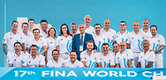 Referees<br /> Day 14 76/07/2017<br /> XVII FINA World Championships Aquatics<br /> City Park - Varosliget Lake<br /> Budapest Hungary <br /> Photo Pasquale Mesiano/Deepbluemedia/Insidefoto