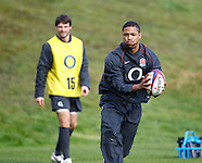 England Rugby Training 271010