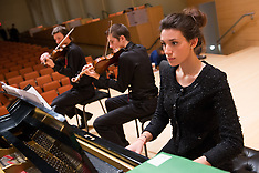 Preparatory Program Fall Concert Rehearsal