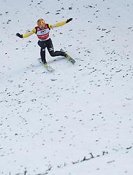 12.01.2014, Kulm, Bad Mitterndorf, AUT, FIS Ski Flug Weltcup, Zweiter Durchgang, im Bild Noriaki Kasai (JPN) // Noriaki Kasai (JPN) during the second round of FIS Ski Flying World Cup at the Kulm, Bad Mitterndorf, Austria on 2014/01/12, EXPA Pictures © 2013, PhotoCredit: EXPA/ Erwin Scheriau
