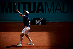 May 8, 2018 - Madrid, Spain - Uruguayan Pablo Cuevas during Mutua Madrid Open 2018 at Caja Magica in Madrid, Spain. May 08, 2018. (Credit Image: © Coolmedia/NurPhoto via ZUMA Press)